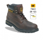 Caterpillar Holton Leather Goodyear Welted Safety Boot (Sizes 6 - 12)